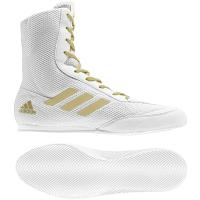 Боксёрки Adidas Box Hog Plus. White / Gold.