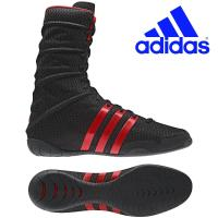 Боксёрки Adidas ADIPOWER BOXING. Чёрные.