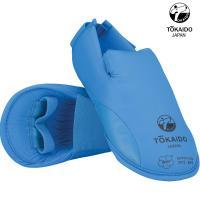 Защита подъёма стопы для Каратэ. Токайдо. Цвет синий.